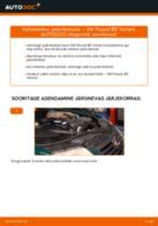 Automehaaniku soovitused, selleks et vahetada välja VW Passat 3B6 1.8 T 20V Piduriketas