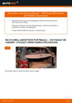 Cum să schimbați: amortizor portbagaj la VW Passat B5 Variant   Ghid de înlocuire