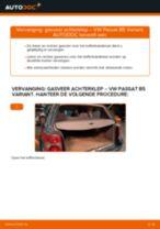 Hoe gasveer achterklep vervangen bij een VW Passat B5 Variant – vervangingshandleiding