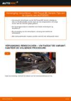 Hoe remschijven achteraan vervangen bij een VW Passat B5 Variant – vervangingshandleiding