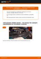 Hoe remblokken vooraan vervangen bij een VW Passat B5 Variant – vervangingshandleiding