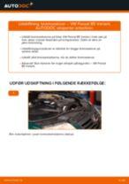 Udskift bremseskiver for - VW Passat B5 Variant | Brugeranvisning