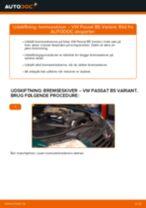Udskift bremseskiver bag - VW Passat B5 Variant | Brugeranvisning