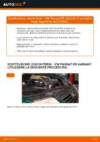 Come cambiare dischi freno della parte posteriore su VW Passat B5 Variant - Guida alla sostituzione
