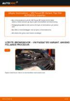 Byta bromsskivor bak på VW Passat B5 Variant – utbytesguide