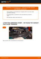 Instruksjonsbok VW PASSAT