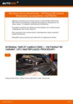 Jak wymienić tarcze hamulcowe tył w VW Passat B5 Variant - poradnik naprawy