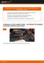 Jak wymienić klocki hamulcowe przód w VW Passat B5 Variant - poradnik naprawy
