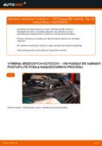 Ako vymeniť zadné brzdové kotúče na VW Passat B5 Variant – návod na výmenu