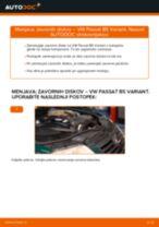 Priročnik PDF o vzdrževanju PASSAT