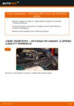 Autószerelői ajánlások - Passat B6 2.0 TDI 16V Vezetőkar fej cseréje