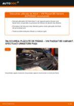 Cum să schimbați: plăcuțe de frână din față la VW Passat B5 Variant | Ghid de înlocuire