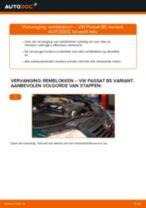 Hoe remblokken achteraan vervangen bij een VW Passat B5 Variant – vervangingshandleiding