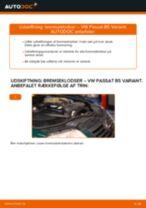 Udskiftning af Bremsehovedcylinder på VW SHARAN - tip og tricks