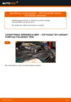 Manuel PDF til vedligeholdelse af PASSAT