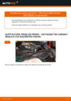 Cómo cambiar: pinza de freno de la parte delantera - VW Passat B5 Variant   Guía de sustitución