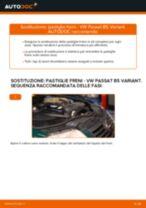 Come cambiare pastiglie freno della parte posteriore su VW Passat B5 Variant - Guida alla sostituzione