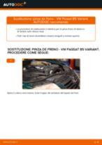 Come cambiare pinza de freno della parte anteriore su VW Passat B5 Variant - Guida alla sostituzione