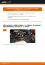 Step by step PDF-tutorial on Track Rod End Ford Transit Mk7 Van replacement