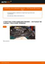 Trinn-for-trinn reperasjonshåndbøker Passat 3b5