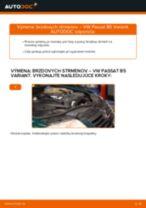 Ako vymeniť predné brzdový strmeň na VW Passat B5 Variant – návod na výmenu
