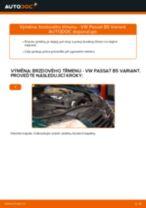 Jak vyměnit přední brzdový třmen na VW Passat B5 Variant – návod k výměně