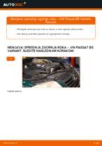 Kako zamenjati Komplet (kit) zobatega jermena SEAT ALTEA - vodič spletu