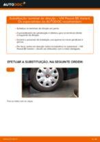 Como mudar terminal de direção em VW Passat B5 Variant - guia de substituição