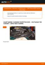 VW PASSAT Õõtshoob vahetus: tasuta pdf