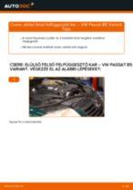 VW PASSAT Variant (3B6) Lengőkar beszerelése - lépésről-lépésre útmutató