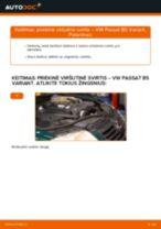 Pakeisti Vikšro Valdymo Svirtis VW PASSAT: instrukcija