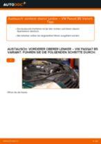 Installation von Lenker Radaufhängung VW PASSAT Variant (3B6) - Schritt für Schritt Handbuch