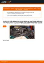 Cómo cambiar: brazo superior de la parte delantera - VW Passat B5 Variant | Guía de sustitución