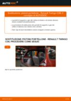 Tutorial di riparazione e manutenzione RENAULT Twingo II Kasten / Schrägheck (CNO_)
