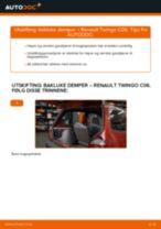 Mekanikerens anbefalinger om bytte av RENAULT Twingo c06 1.2 16V Fjærer