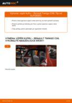 Odporúčania od automechanikov k výmene RENAULT Twingo c06 1.2 16V Hlava / čap spojovacej tyče riadenia
