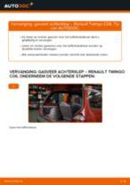 RENAULT Twingo II Kasten / Schrägheck (CNO_) reparatie en onderhoud tutorial