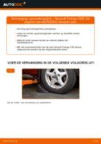 Hoe Motorolie veranderen en installeren RENAULT TWINGO: pdf handleiding
