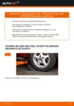 RENAULT TWINGO I (C06_) Scheibenwischer wechseln Front + Heckscheibe Anleitung pdf