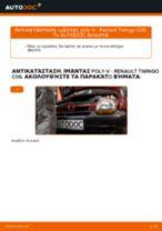 Αλλαγή Ιμάντας poly-V RENAULT TWINGO: online εγχειριδιο