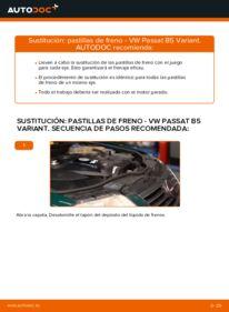Cómo realizar una sustitución de Pastillas De Freno en un VW PASSAT