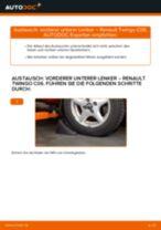 PDF Wechsel Anleitung: Achslenker RENAULT TWINGO I (C06_) hinten und vorne