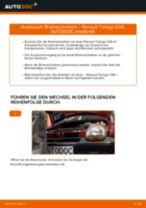Bremsscheiben auswechseln RENAULT TWINGO: Werkstatthandbuch
