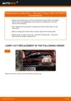 RENAULT Twingo II Kasten / Schrägheck (CNO_) repair manual and maintenance tutorial