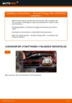 Hvordan bytte og justere Bremseskiver RENAULT TWINGO: pdf håndbøker
