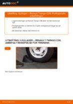 Montering Hjullagersett RENAULT TWINGO I (C06_) - steg-for-steg manualer