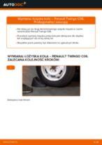 Zalecenia mechanika samochodowego dotyczącego tego, jak wymienić RENAULT Twingo c06 1.2 16V Amortyzator