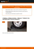Ako vymeniť a regulovať Lozisko kolesa RENAULT TWINGO: sprievodca pdf