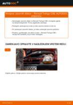 Navodila po korakih za popravilo Renault Twingo 1 Van