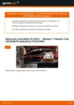 Priročnik za delavnico za Renault Laguna 3